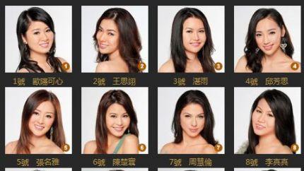 《2013国际中华小姐竞选》翡翠台首播