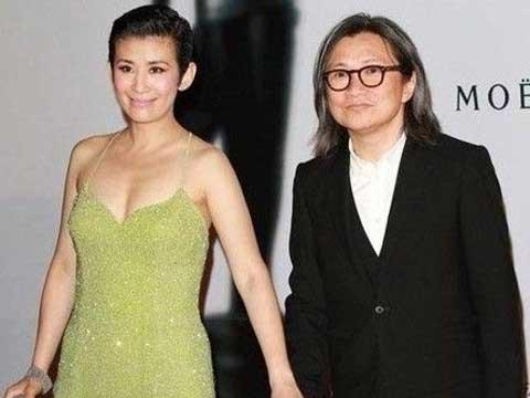 陈可辛(右)和吴君如爱情长跑16年、育有一女,最近惊爆有小三。