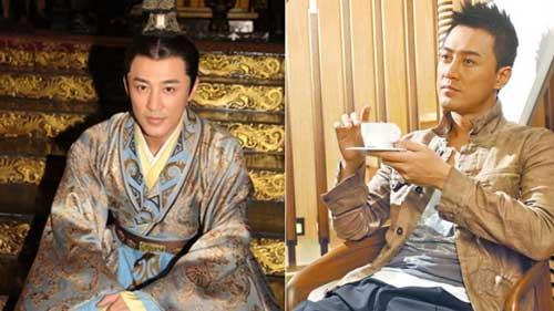 林峯之前帮nowTV拍《大汉贤后卫子夫》。