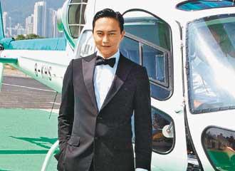 张智霖演完「Cool魔」,事业再上高峰。