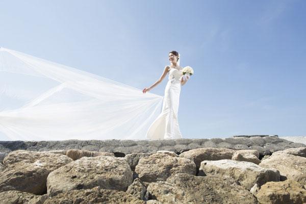 陈敏之巴厘岛举行婚礼 结婚照曝光