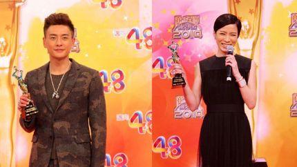 2014年度内地最受欢迎TVB男女艺人揭晓