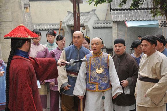 TVB清装喜剧《食为奴》翡翠台首播