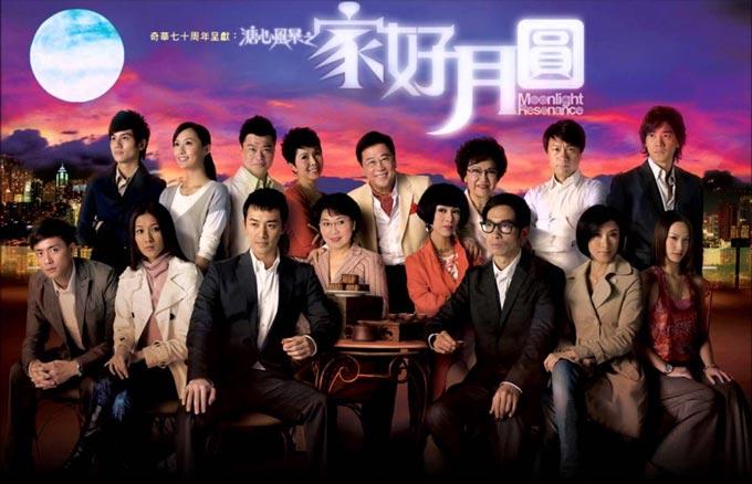 万千星辉颁奖典礼2008 最佳剧集《溏心风暴之家好月圆》