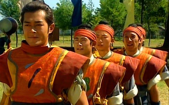 《寻秦记》是古天乐在TVB的最后一部电视剧