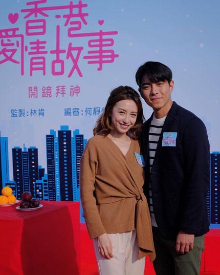 《香港爱情故事》开镜拜神